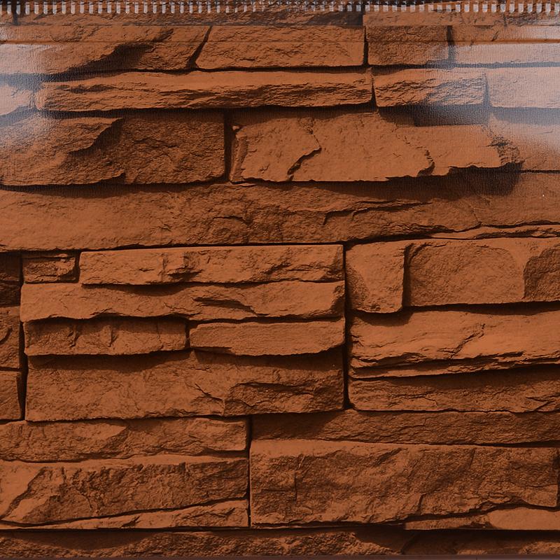 红文化石金属外墙保温板