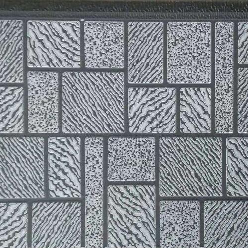 马赛克纹金属雕花板