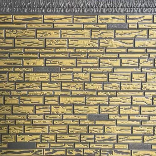 金属雕花面复合保温板