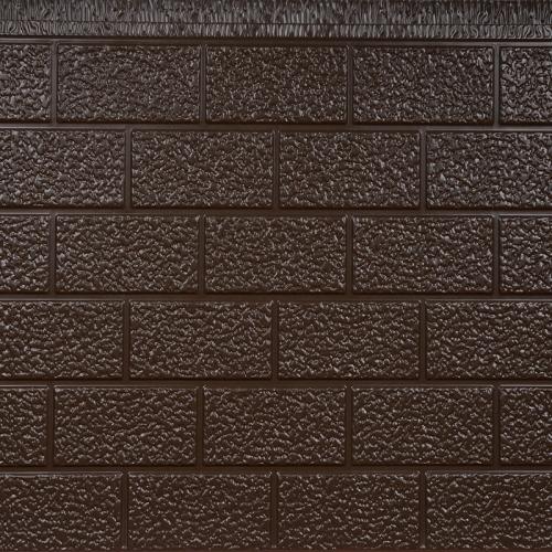 单色砖纹外墙金属保温板