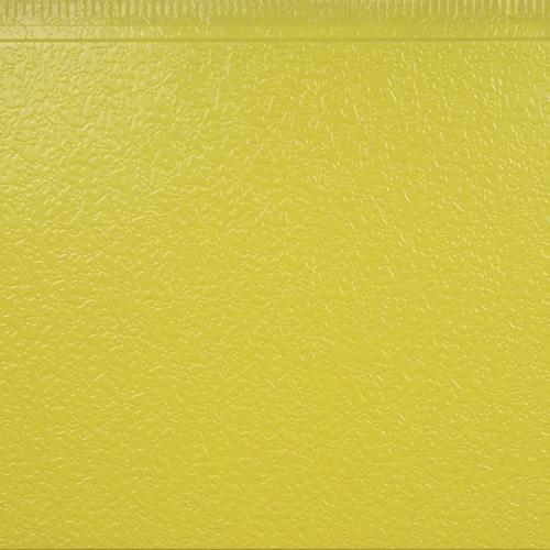 黄绿弹涂纹金属雕花板