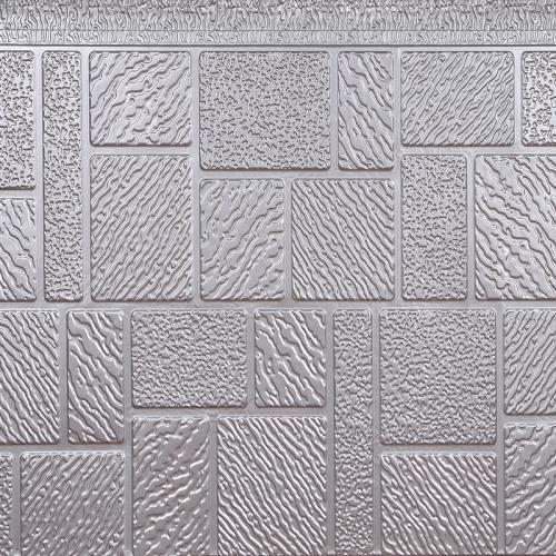 马赛克纹金属外墙保温板