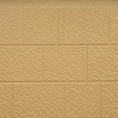 石头纹外墙金属保温板