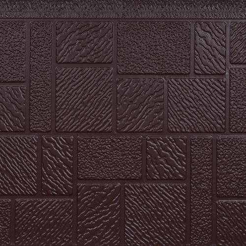 马赛克纹金属雕花保温板