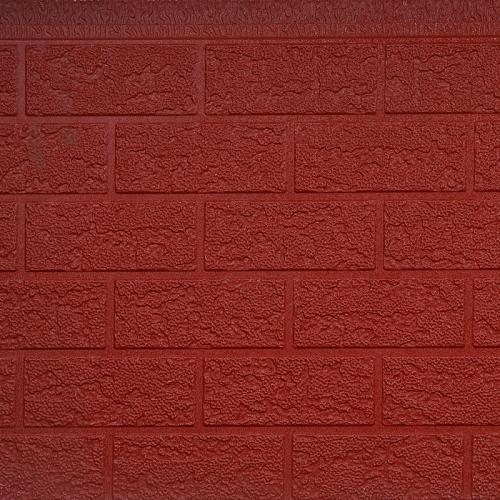 砖纹金属雕花保温板