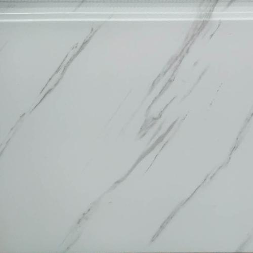 爵士白大理石金属雕花板