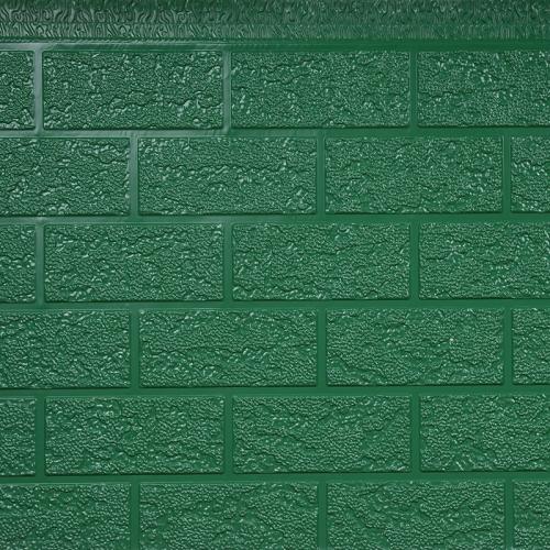 六粗砖纹金属雕花板