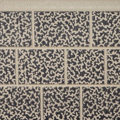 双色砖纹外墙装饰保温板