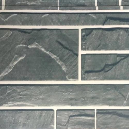 大理石纹金属雕花保温板